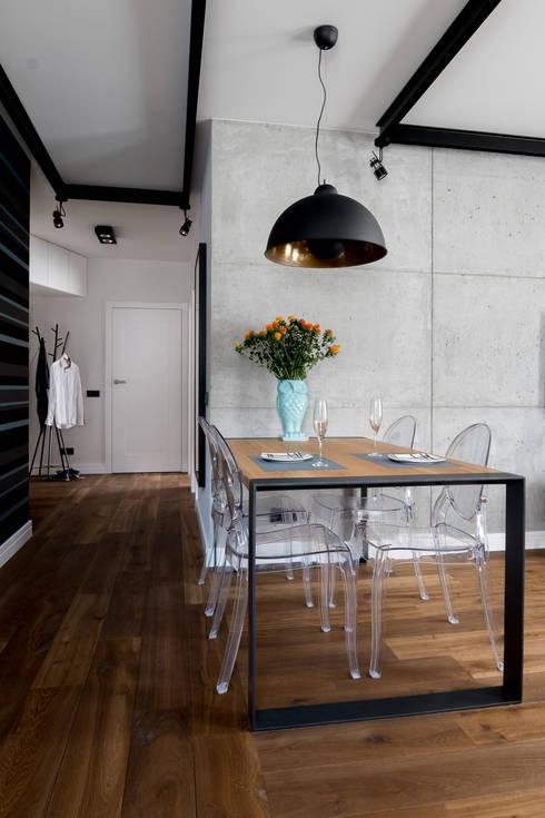 Mieszkanie na Bemowie: styl , w kategorii Jadalnia zaprojektowany przez Jacek Tryc-wnętrza