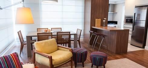 Jantar: Salas de jantar modernas por AND Arquitetura