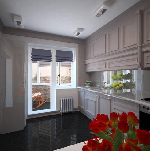 Cocinas de estilo  por Krupp Interiors