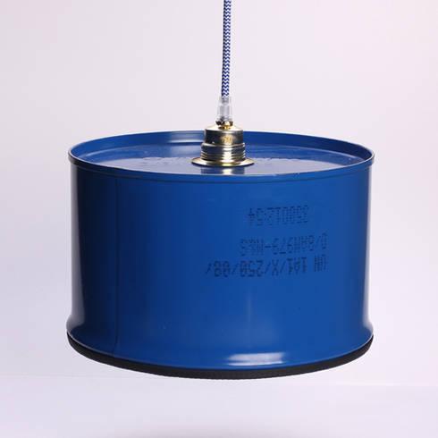 Lampe LUISE: ausgefallene Wohnzimmer von Groegl Upcycling
