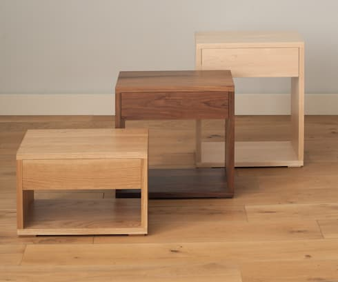 Bedside tables by natural bed company homify the cube bedside table collection modern bedroom by natural bed company watchthetrailerfo