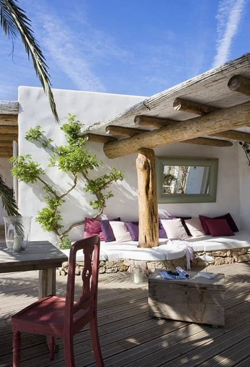Le coperture per terrazzi: in città o in vacanza