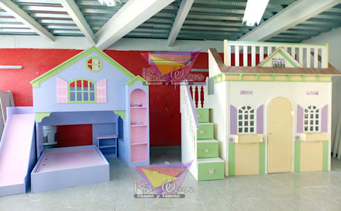 Recamaras para princesas por camas y literas infantiles for Recamaras infantiles