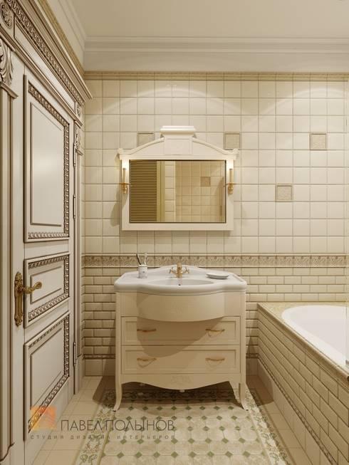 Ванная комната: Ванные комнаты в . Автор – Студия Павла Полынова