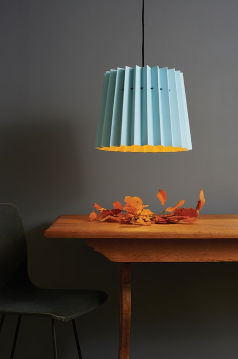 Brighton & Mr David Twin Tone Lampshade: modern Dining room by Lane