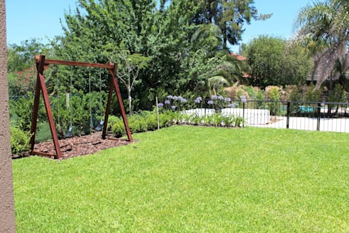 jardin: Jardines de estilo clásico por BAIRES GREEN