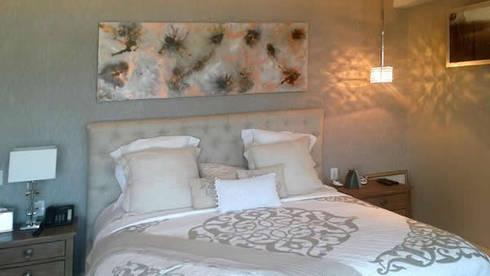 Bloom: Paredes y pisos de estilo moderno por Victoria Goren Arte Contemporaneo