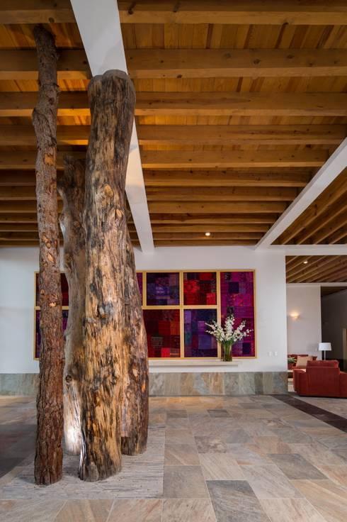 Casa Espiritual: Estudios y oficinas de estilo moderno por PLADIS