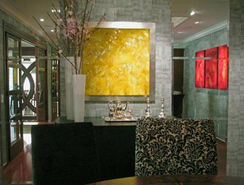 Liquid Crystal: Paredes y pisos de estilo moderno por Victoria Goren Arte Contemporaneo