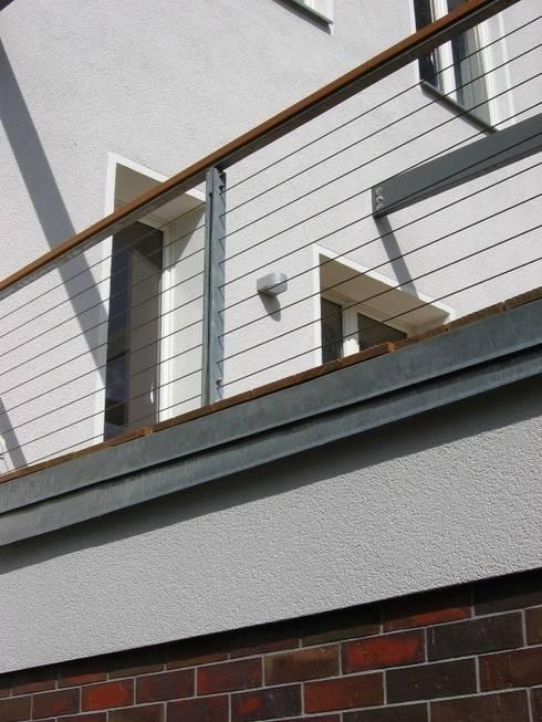 Terrassen-Geländer:  Terrasse von Schenning-Architekten