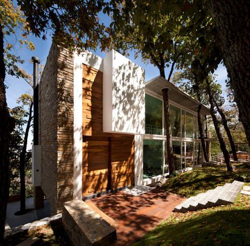 Casa Olinala:  de estilo  por Local10 Arquitectura