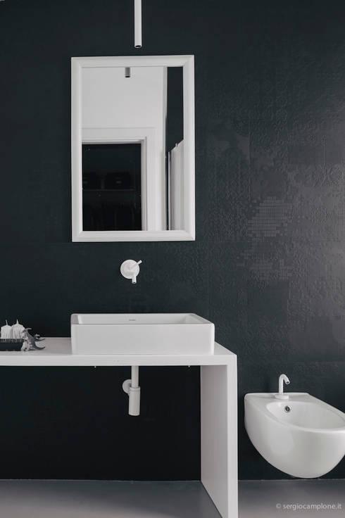 casa luana: Bagno in stile  di Studio Zero85