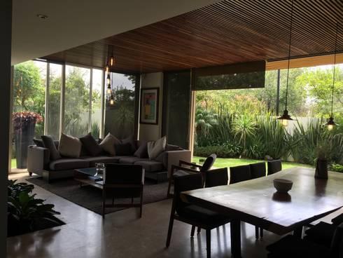 Casa LOMAS: Comedores de estilo moderno por ARGDL
