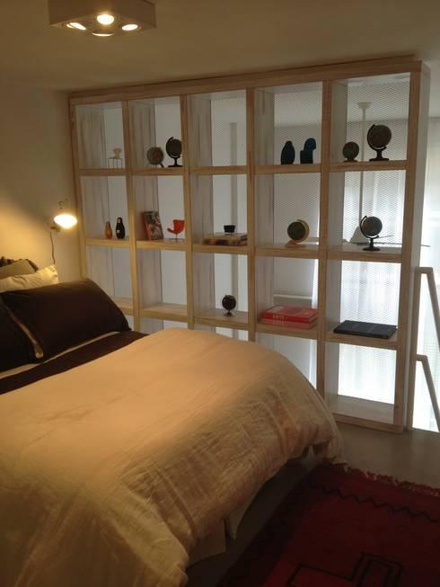 غرفة نوم تنفيذ GUTMAN+LEHRER ARQUITECTAS