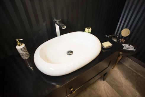 Lavabo: Baños de estilo  por NEST