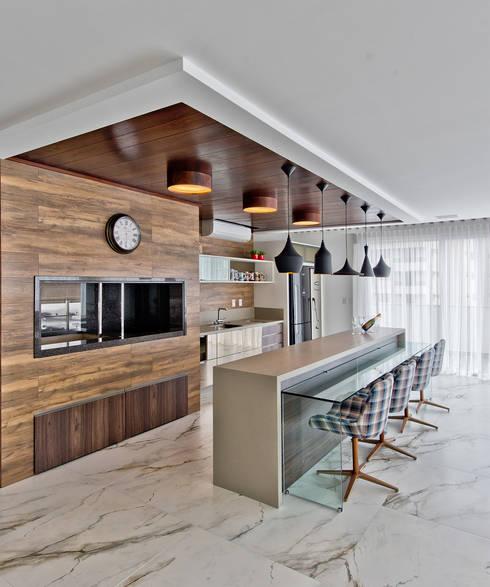 Кухни в . Автор – Espaço do Traço arquitetura
