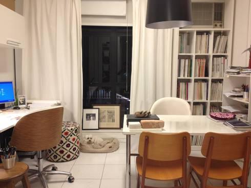 Escritório: Escritório e loja  por Flavia Lucas & Adriana Esteves  - Arquitetura