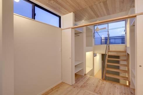 川越の家: 株式会社FAR EAST [ファーイースト]が手掛けた寝室です。