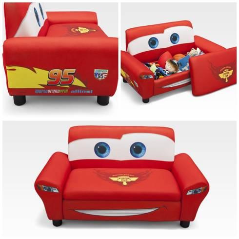 Dormitorio infantil cars disney de homify - Sofa cama infantiles ...