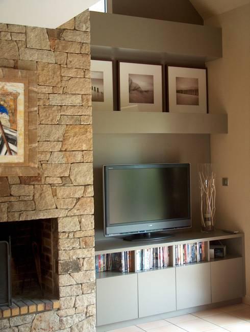Sala de estar  por Atelier Géraldine Ridard