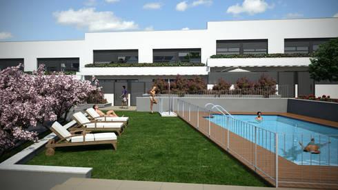 Parcela ru2b ar nuevo tres cantos madrid 12 viviendas unifamiliares de aurianova arquitectos - Cooperativa tres cantos ...
