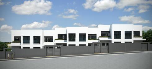 Parcela ru2b ar nuevo tres cantos madrid 12 viviendas - Chalets tres cantos ...