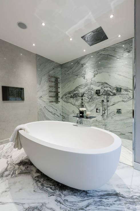 Projekty,  Łazienka zaprojektowane przez Luke Cartledge Photography