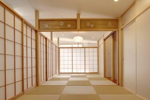 清洲の家: 株式会社FAR EAST [ファーイースト]が手掛けた寝室です。