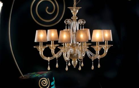 Ricambi per lampadari in vetro di murano e specchi ricambi per