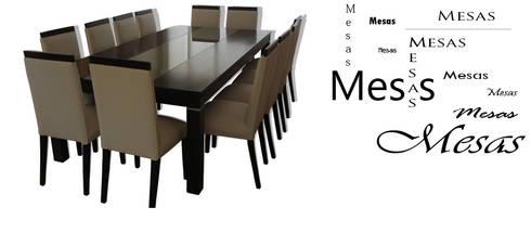 Mesas de Mueble y Confort: Comedores de estilo moderno por Mueble y Confort
