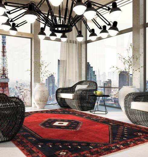 Klardasht Tokyo: Oficinas y tiendas de estilo  de CarpetVista Spain