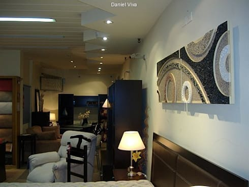 Murales minimalistas: Livings de estilo minimalista por Murales Daniel Viva