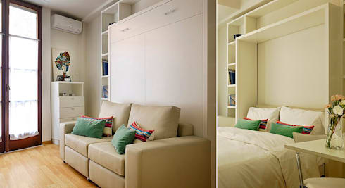 Departamento 18 M2.  : Estudio de estilo  por MINBAI