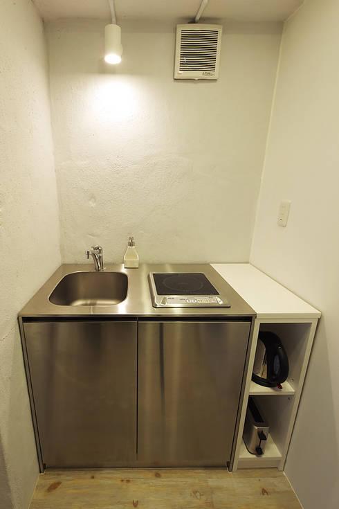 廚房 by 有限会社タクト設計事務所