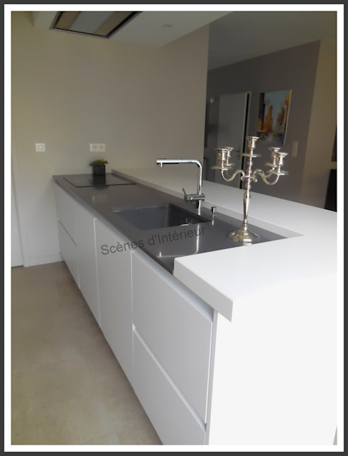 cuisine pur e de sc nes d 39 int rieur homify. Black Bedroom Furniture Sets. Home Design Ideas