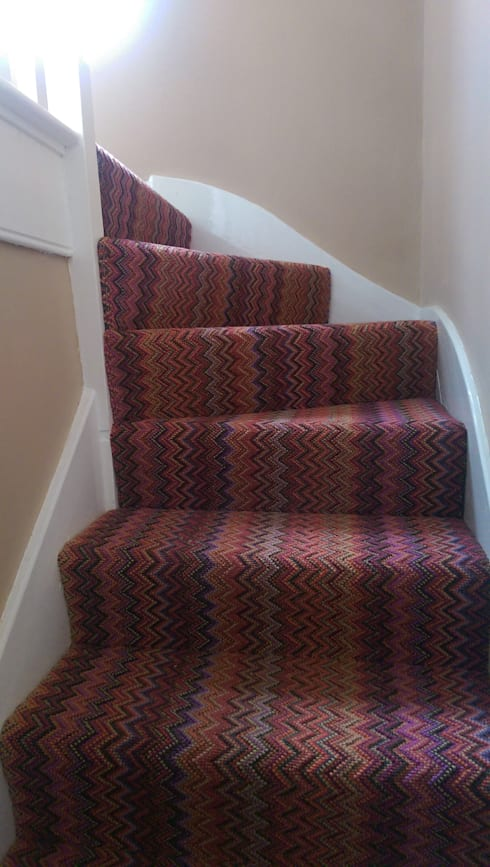 Wools of New Zealandが手掛けた廊下 & 玄関