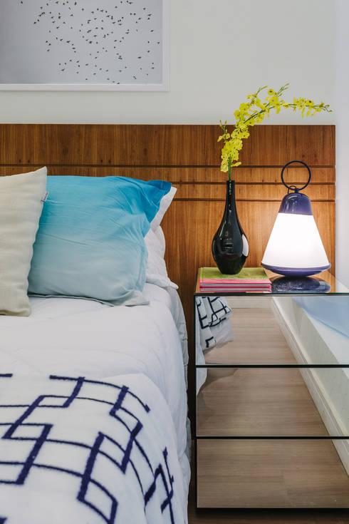 Apartamento Bela Vista: Quartos  por STUDIO LN