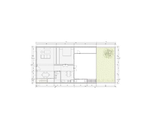 Casa Silvia y Omar: Casas de estilo moderno por IR arquitectura