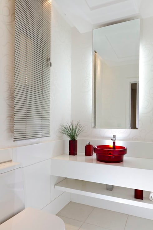 ห้องน้ำ by KARINA KOETZLER arquitetura e interiores
