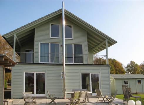 Modernisierung Ferienhaus <q>Am Steinhuder Meer</q>: landhausstil Häuser von Cousin Architekt - Ökotekt