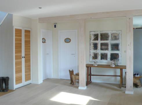 Modernisierung Ferienhaus <q>Am Steinhuder Meer</q>: landhausstil Wohnzimmer von Cousin Architekt - Ökotekt