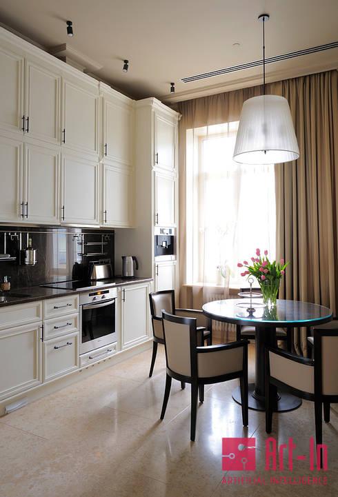 Projekty,  Kuchnia zaprojektowane przez Art-In