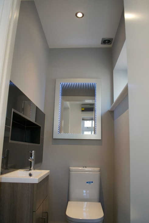 modern Bathroom by The Market Design & Build