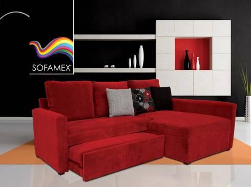 Sof s cama de sofamex de sofamex online homify for Sofa cama de un cuerpo