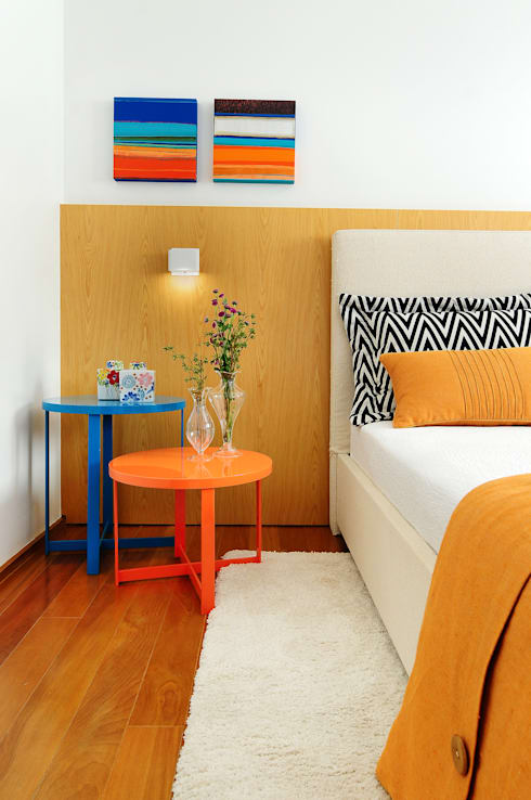 Chambre de style  par Thaisa Camargo Arquitetura e Interiores