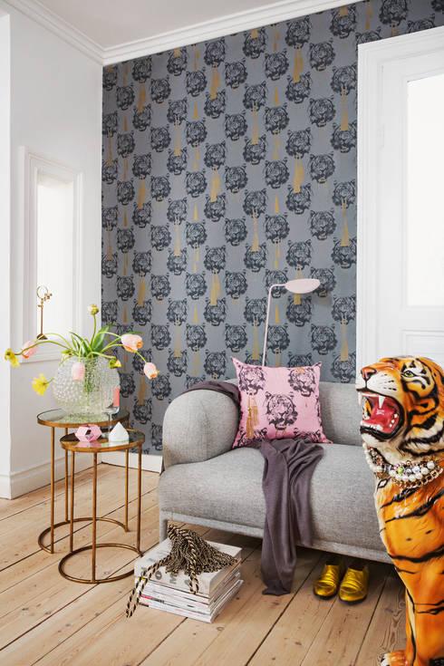 Coco Tiger:  Walls & flooring by Studio Lisa Bengtsson