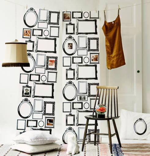 Projekty,  Ściany i podłogi zaprojektowane przez Studio Lisa Bengtsson