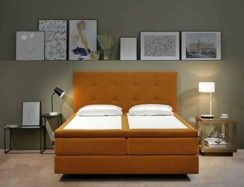 Cocoon: Personaliza tu lado de la cama: Dormitorios de estilo escandinavo de ECUS