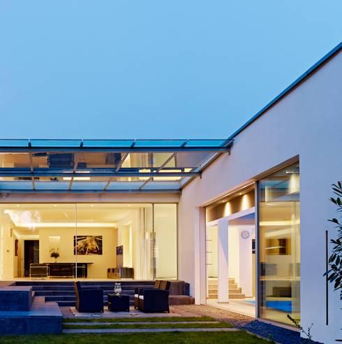 Casas minimalistas por Gritzmann Architekten