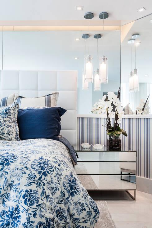 Projekty,  Sypialnia zaprojektowane przez Regina Claudia p. Galletti